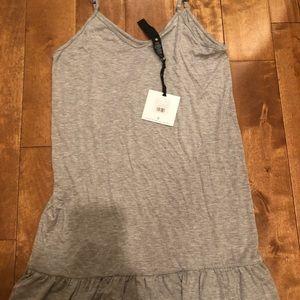 Agnes and Dora slip dress Xs grey